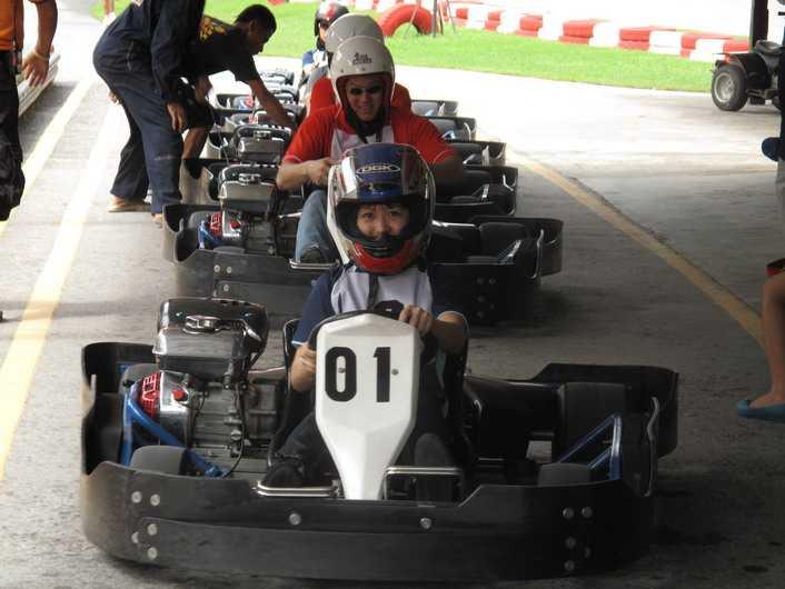 Go-Karting at Gokart Speedway, Phuket