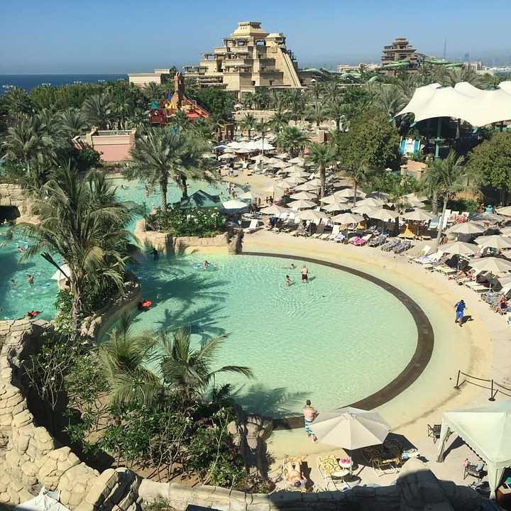 waterparks in dubai, atlantis aquaventure