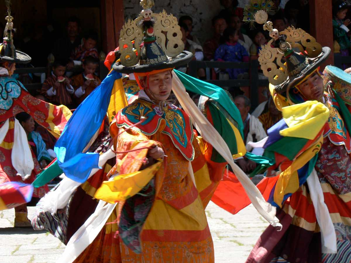 Cham Dance, Dances of Bhutan