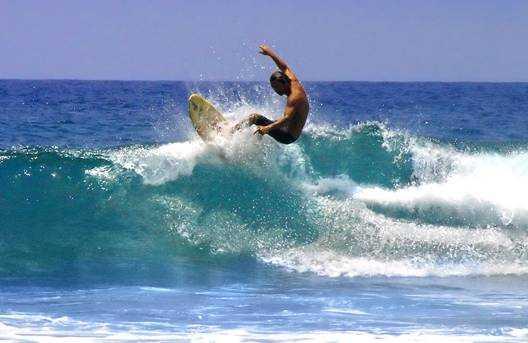La Digue, Surfing in Seychelles