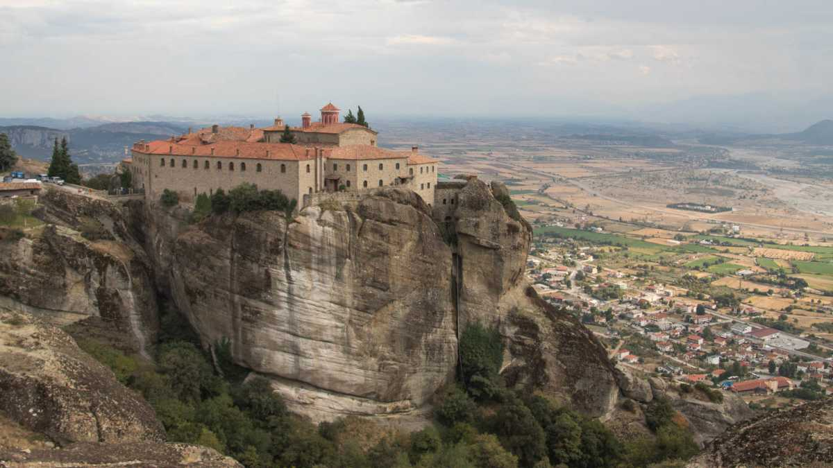 Stephanos Monastery in Greece