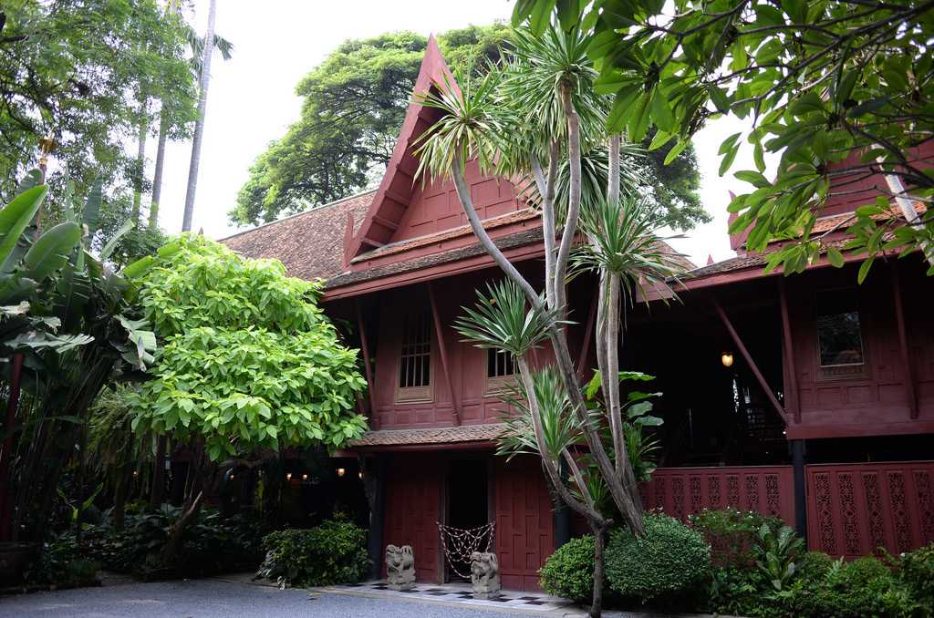 Jim Thompson House Museum in Thailand