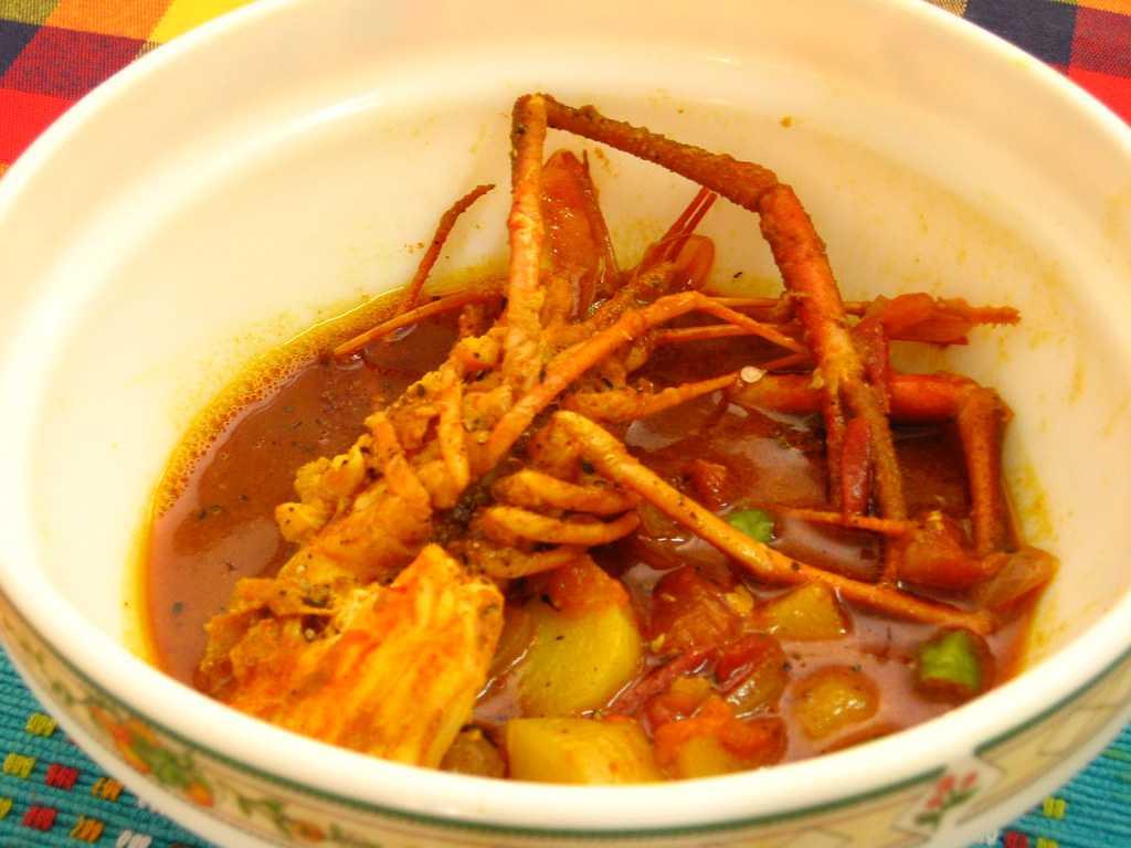 Prawn Curry, Street food of Goa