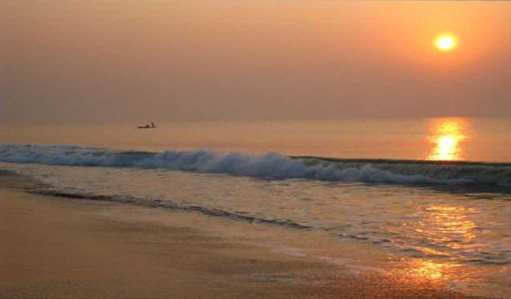 Astaranga Beach at Sunset