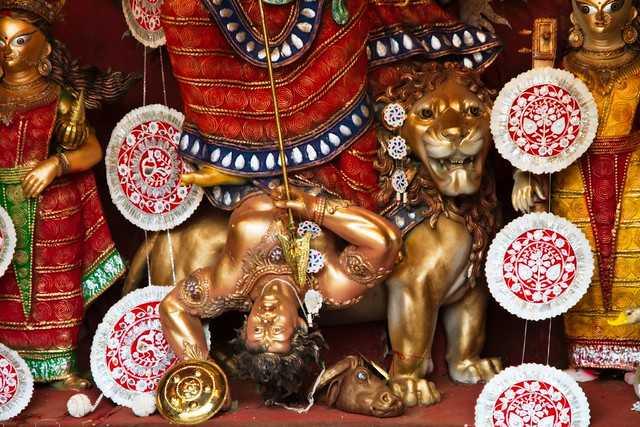 Durga Puja - Mahishasura