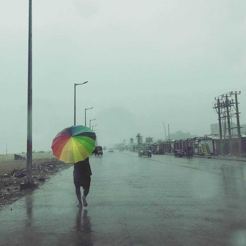A Rainy Day in Chennai