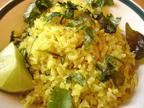 Poha, Street food of Vadodara