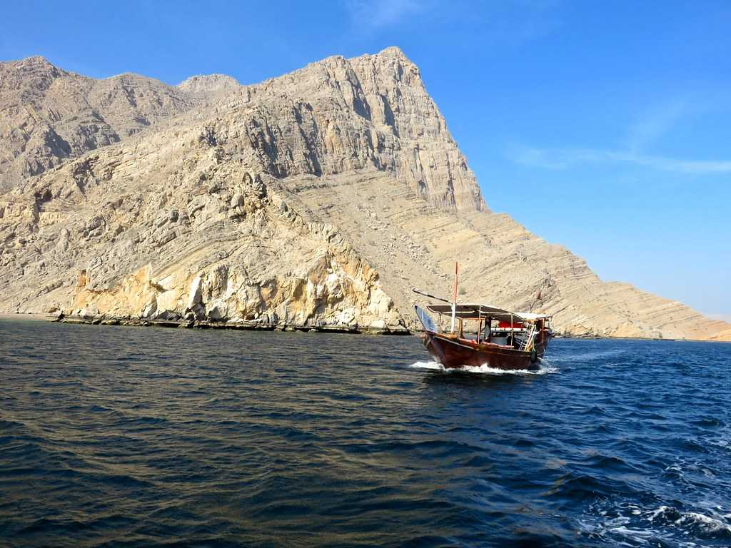 Musandam Peninsula, Landscapes of Oman