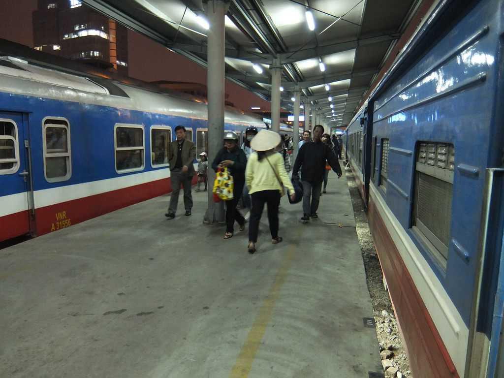 Travel Vietnam By Train, Hanoi Train Station