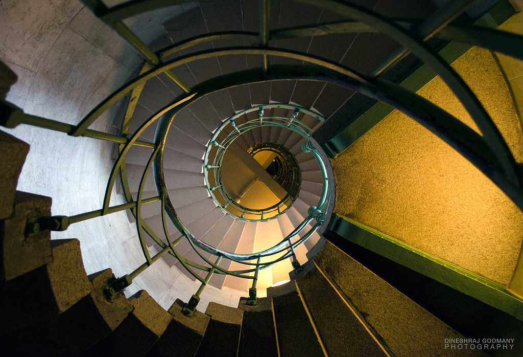 Staircase inside Victoria Column, Berlin