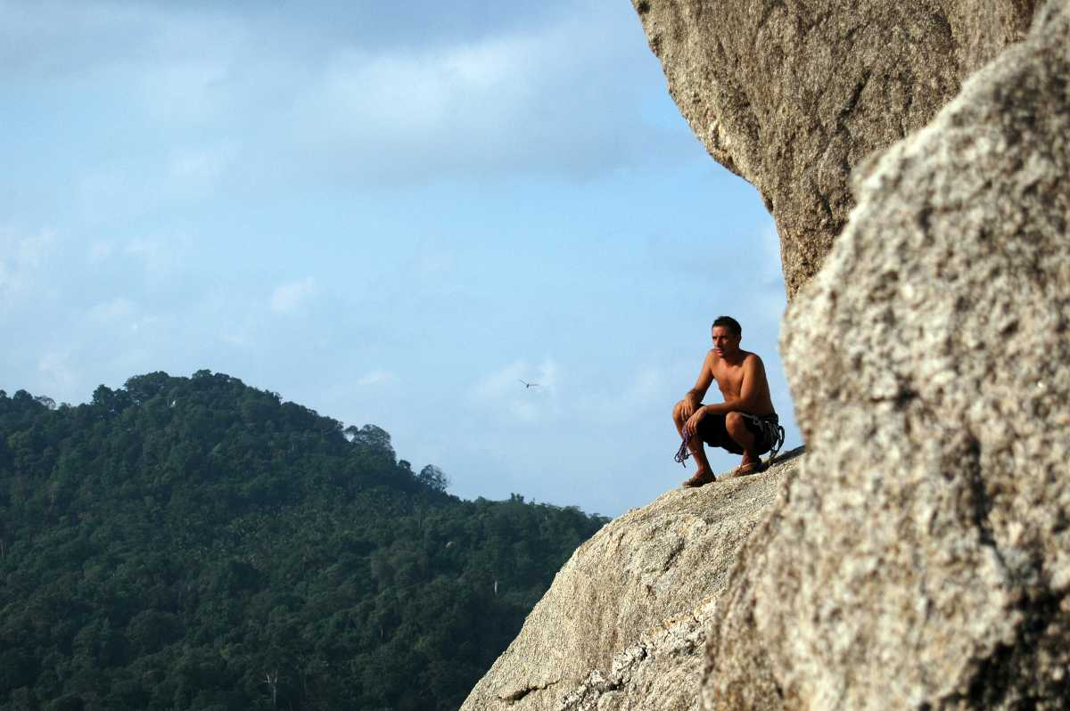 Rock Climbing in Thailand