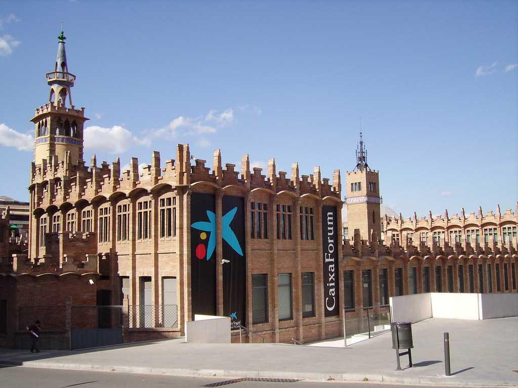 Caixa forum, PLaca D Espanya