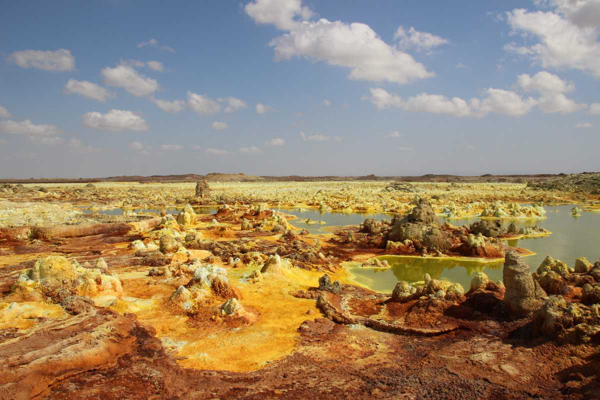 Dallol, Hottest Places In the World