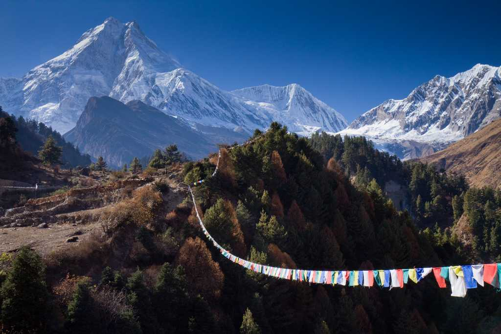 Manaslu Valley, Trekking in Nepal