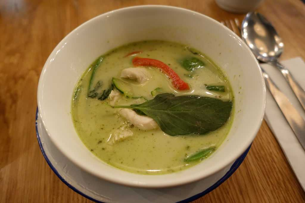 Thai Green Curry - a staple dish of thailand with an indian origin