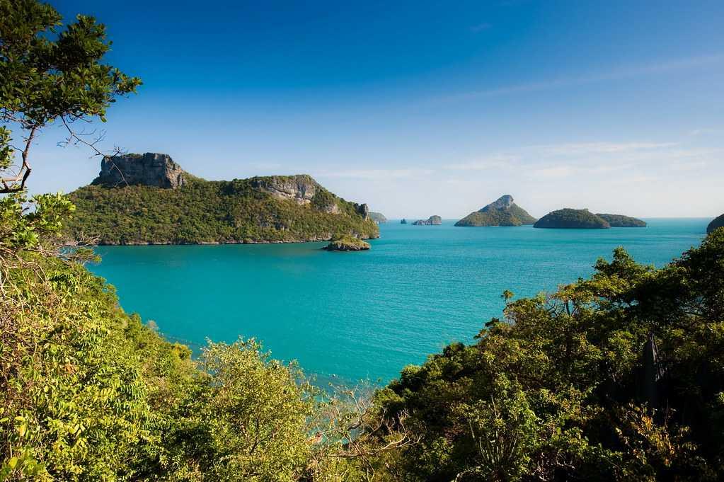 Emerald Lake, Landscapes of Thailand