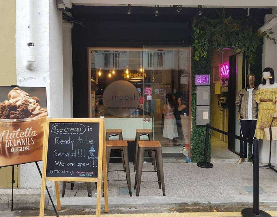 Moosh, Cafes in Singapore