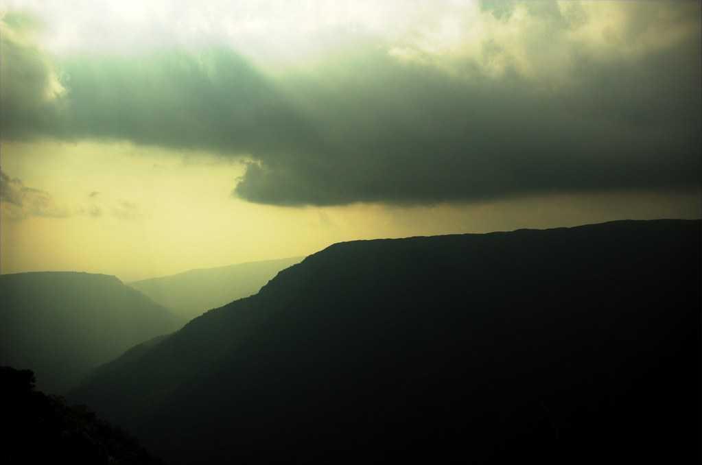 Hills in Meghalaya