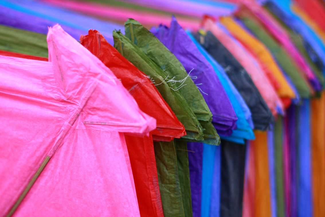 Kites, Kite festivals in India