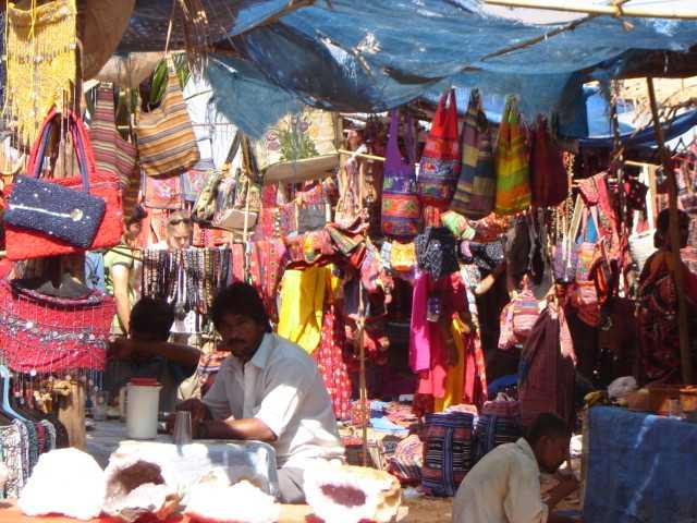 Anjuna Beach flea market