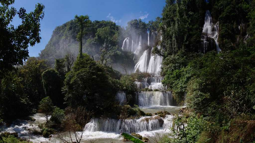Thi Lo Su Waterfall, Landscapes of Thailand