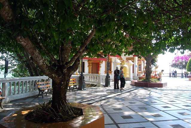 Doi Suthep Temple Coutryard