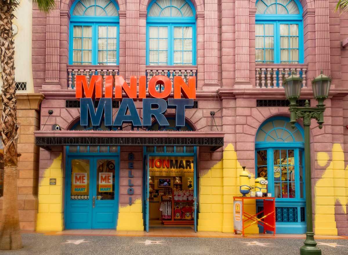 Minion Mart at Universal Studios Singapore
