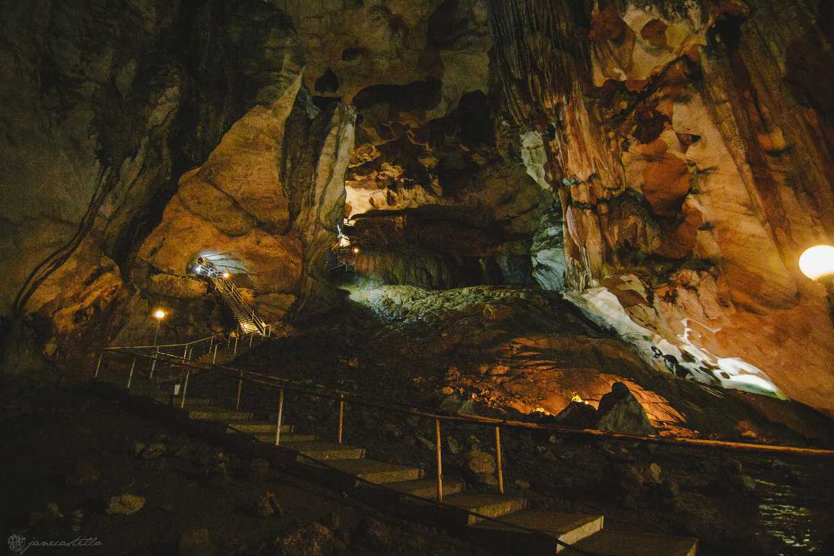 Cave Exploring in Malaysia