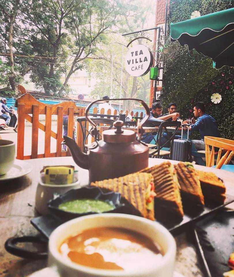 Tea Villa Cafe, Cafes In Bandra