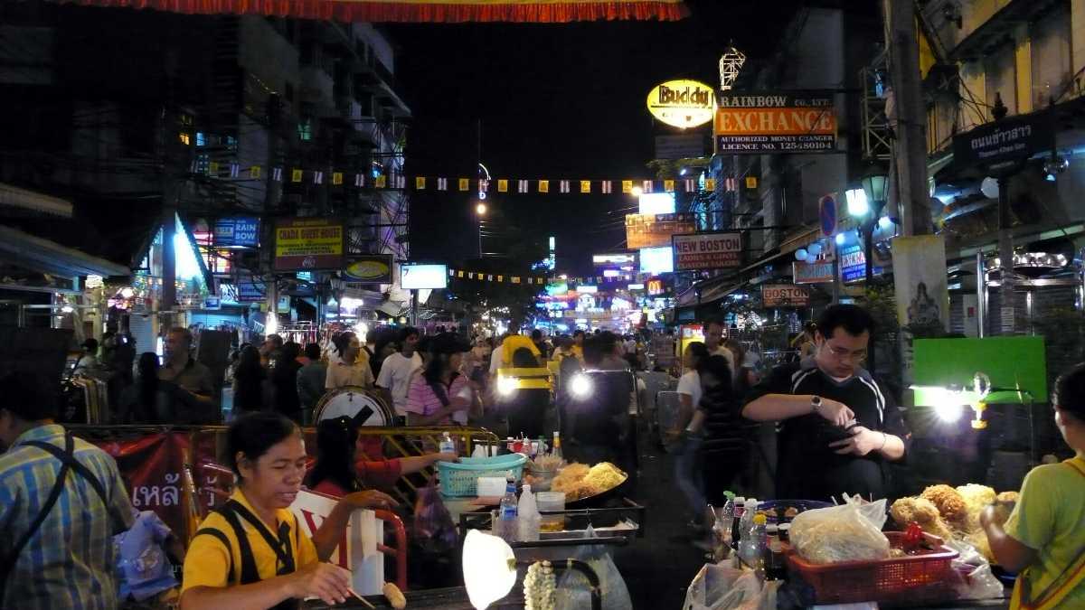 A Crowded Khao San Road