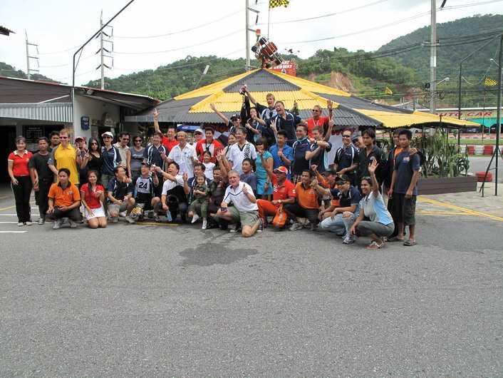 Corporate Trip to Patong Gokart Speedway, Phuket