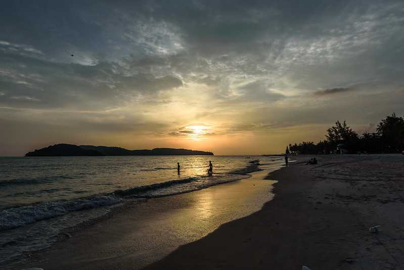 Sunset at Pantai Cenang