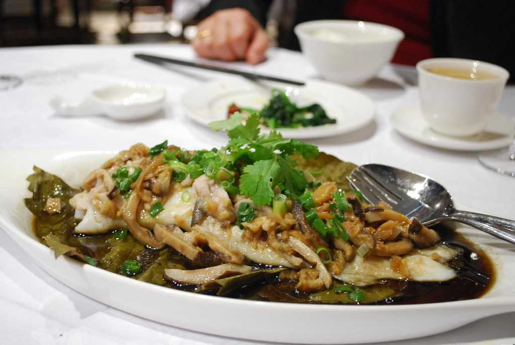 Steamed Fish, Hong Kong Food