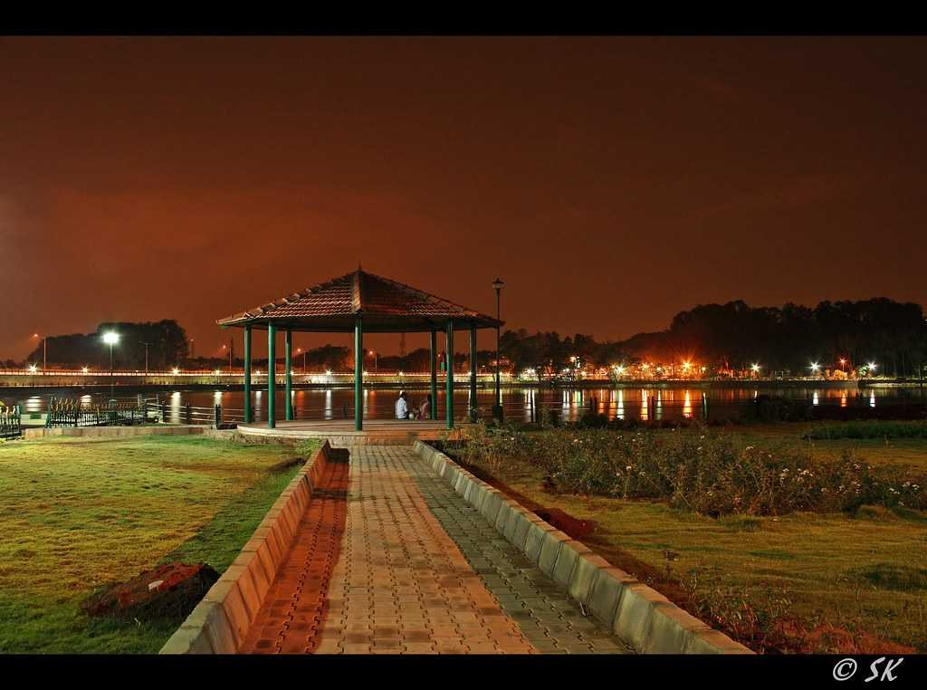 Evenings at Sankey Tank
