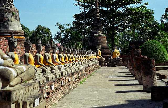 Buddha Statue at Wat Chaiwatthanaram