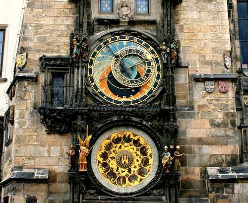 Astronomical Clock in Old Town Hall, Prague