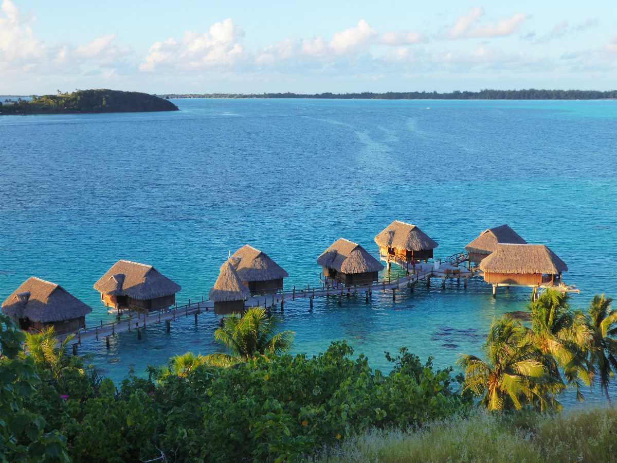Overwater bungalows in Cambodia, Top 10 overwater bungalows in the world