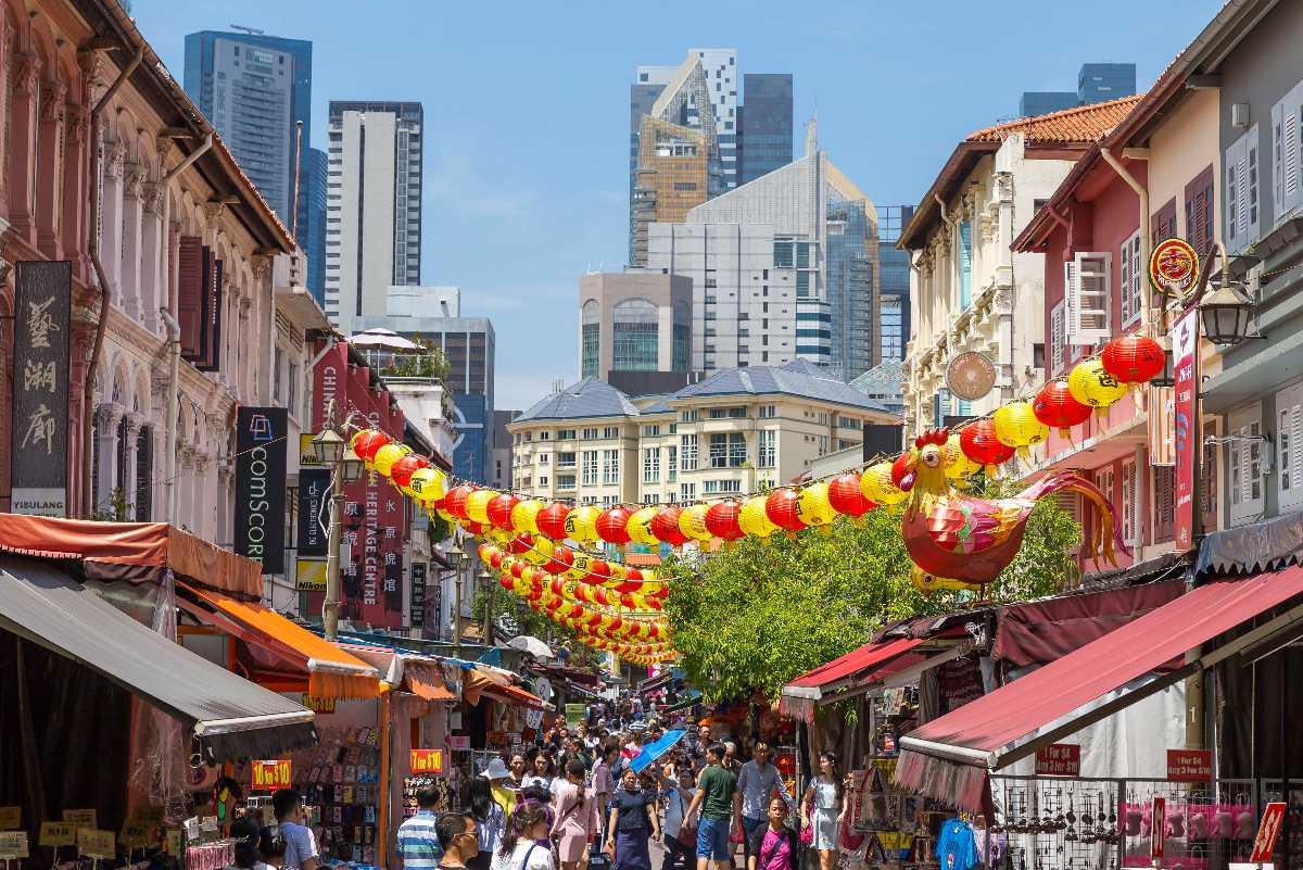 Chinatown, Shopping in Singapore