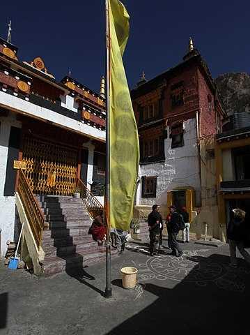 Key Monastery Courtyard
