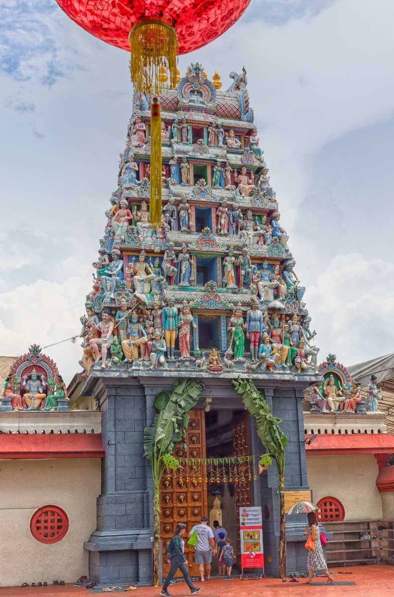 Sri Mariamman temple, Architecture of Singapore