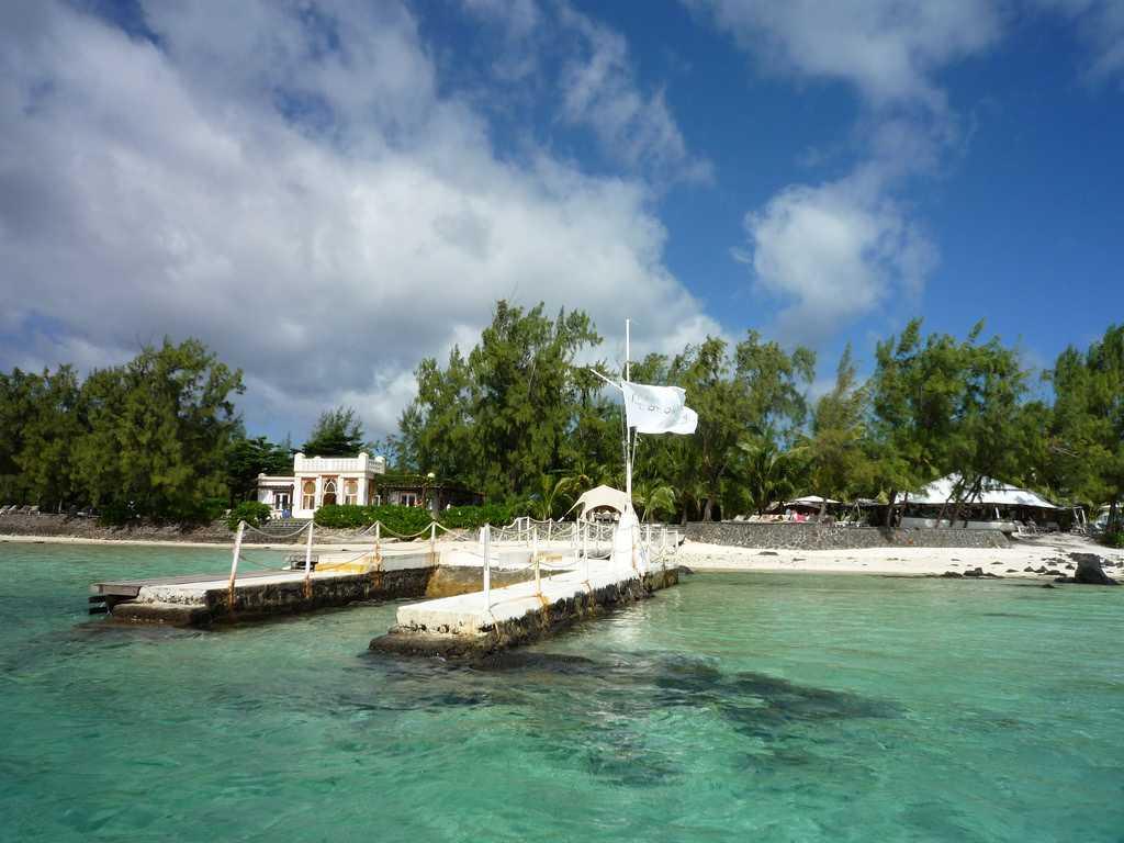 Ile des Deux Cocos, Mauritius in September