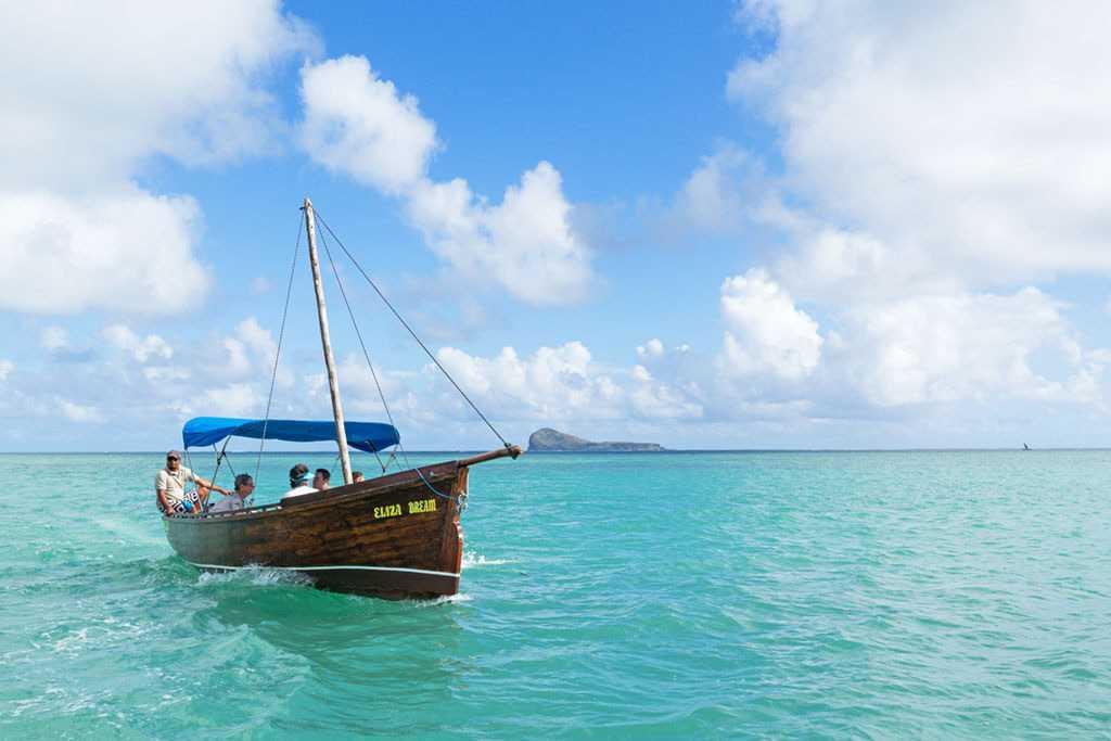 Kayaking, Mauritius in September