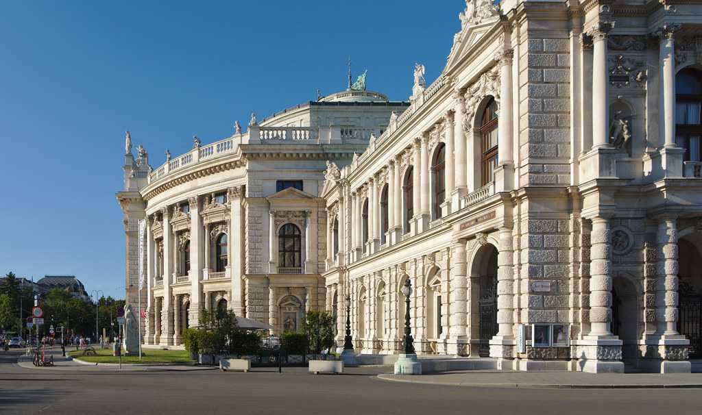Burgtheater or The National Theatre, Vienna