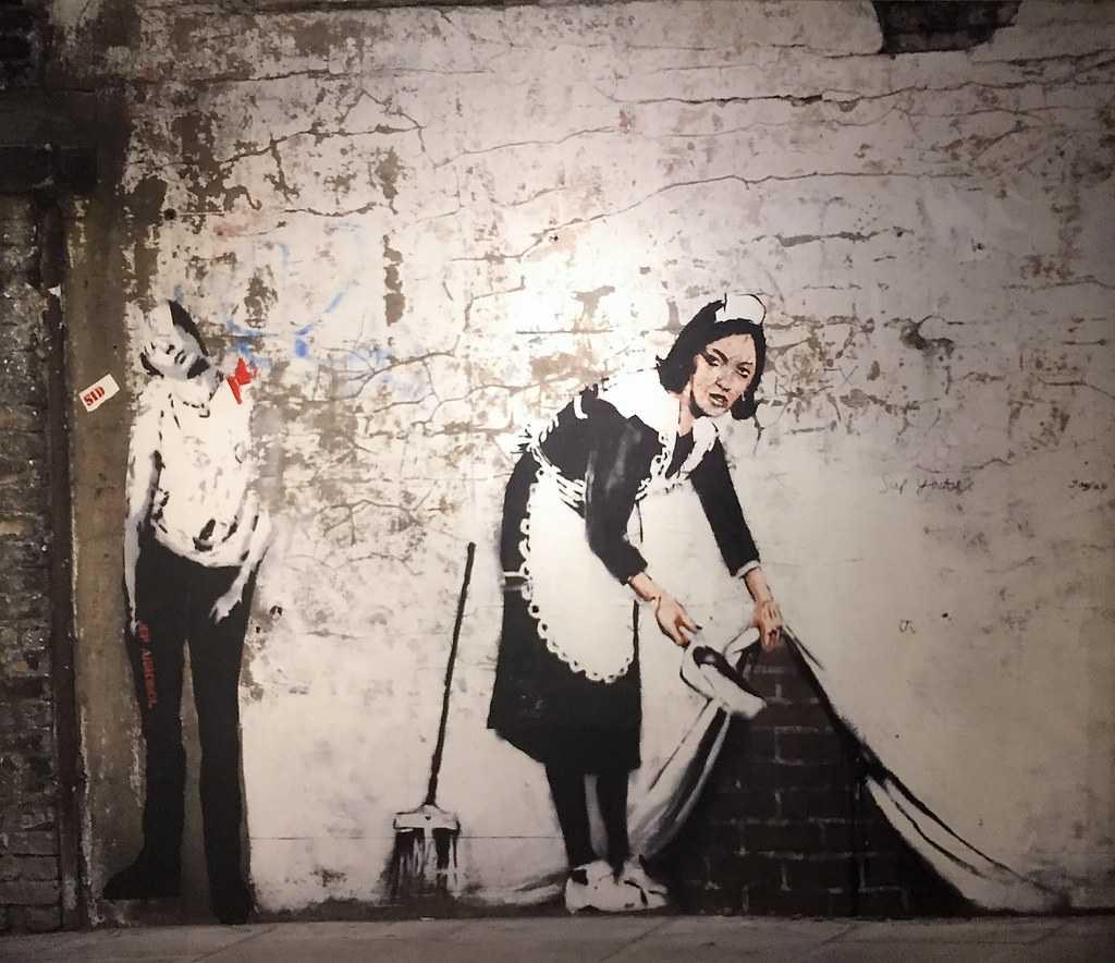 Maid in London, Moco Museum, Amsterdam