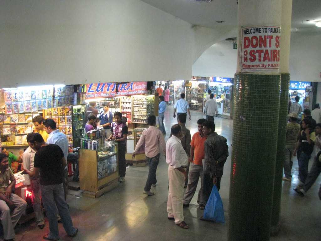 Palika Bazaar, Cheapest Places to Shop in Delhi