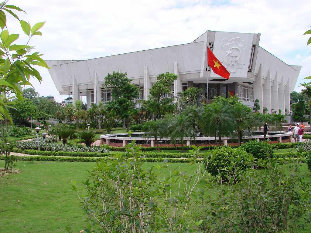 Ho Chi Minh Museum Hanoi Vietnam