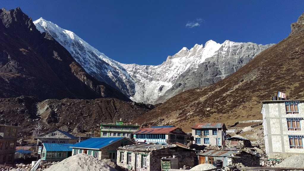 Langtang view, Lapsiphedi, Camping in Nepal