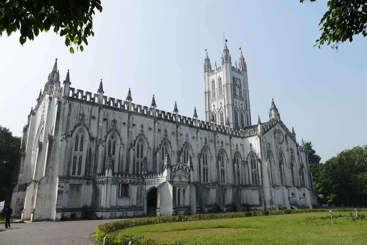 Image result for st. paul's cathedral kolkata