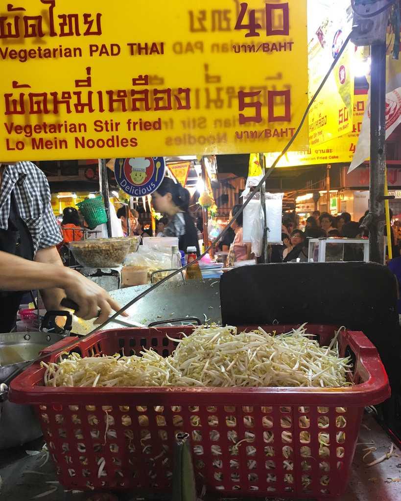 Food Stall in Chinatown Bangkok