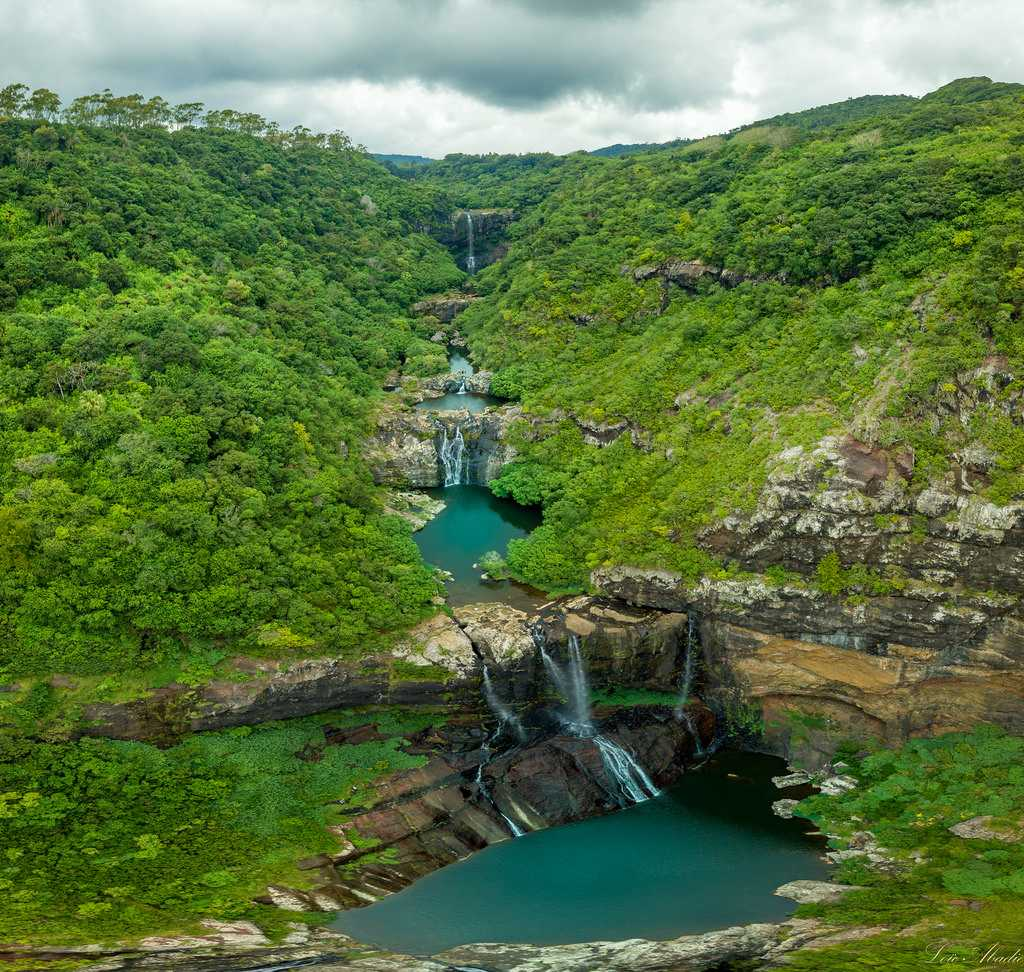 Tamarin Falls, Les 7 Cascades, canyoning in Mauritius, excursions in Mauritius
